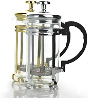 French Presses Eco Coffee Maker Real New Arrival Diy Stocked Eco-friendly French Press Slivery/gold Plunger Makers (Slivery)