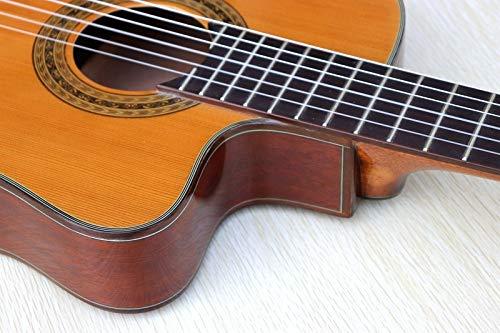 ABMBERTK , Gitarre, Klassische Flamenco-Gitarre von guter Qualität, dünner Körper aus roter Zeder, Klassische Gitarre, Gitarre Modell 2 ohne EQ, 39 Zoll
