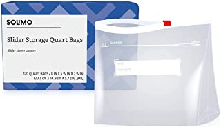 quart slider storage bags