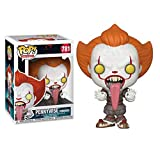 Funko Pop Movie : Stephen King'S It 2 - Pennywise Tongue out 3.75inch Vinyl Gift for Horror Movie Fa...