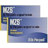 Melatonin MZS Sleep Disorder & Reversal of Macular Degeneration 120 Count (2 Pack Set) (2 Pack - 120 Capusles)