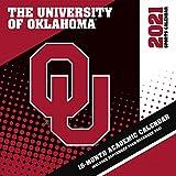 Oklahoma Sooners 2021 12x12 Team Wall Calendar