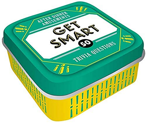 After Dinner Amusements: Get Smart: 50 Trivia Questions (Family Friendly Trivia Card Game, Portable Camping and Holiday Games)