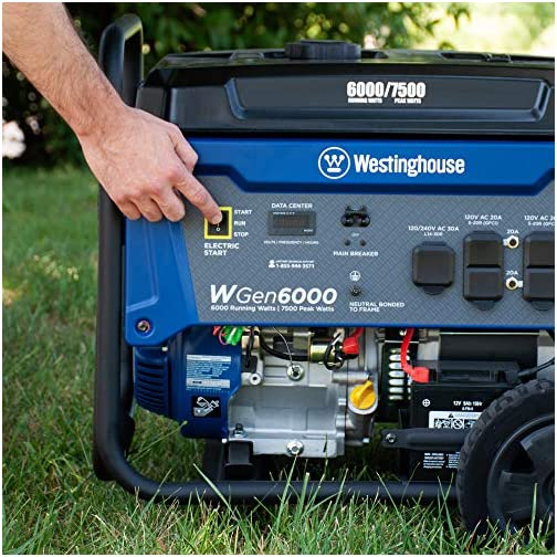 Westinghouse WPro12000 Ultra Duty Industrial Portable Generator - 12000 Rated Watts & 15000 Peak Watts - Gas Powered - Electric & Remote Start - OSHA & CARB Compliant 5