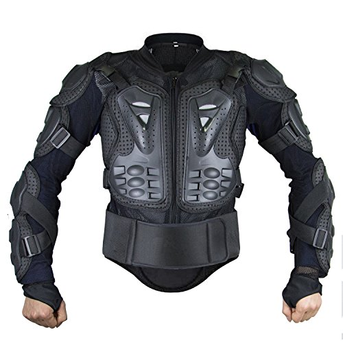 Webetop Mens Mesh Motorcycle Protective Jacket With Armor S
