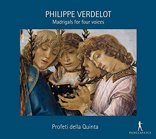 Philippe Verdelot: Madrigals For Four Voices