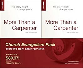 By Josh D. McDowell - More Than a Carpenter Church Evangelism Pack 30-Pa (4/20/09)