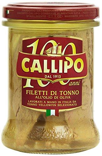 Callipo - Filetti di Tonno, all'Olio di Oliva, 200 g