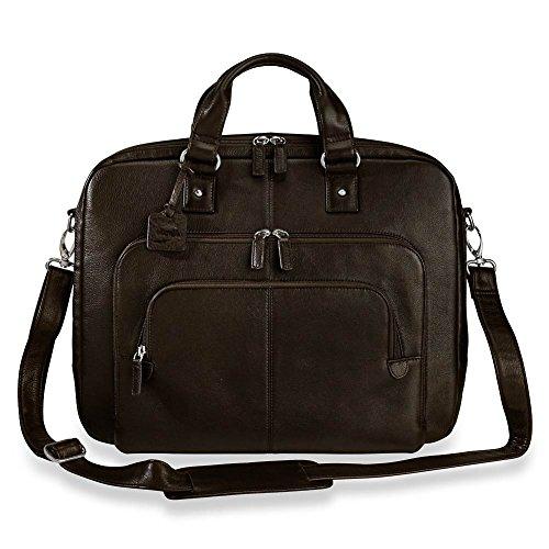 Levenger Triple-Zip Brief Bag (AL13630 ES)