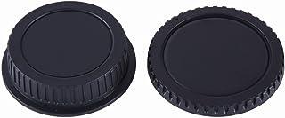 NinoLIte カメラ用キャップ 2個セット Canon EFマウント レンズ用 リアキャップ と ボディ用 キャップ