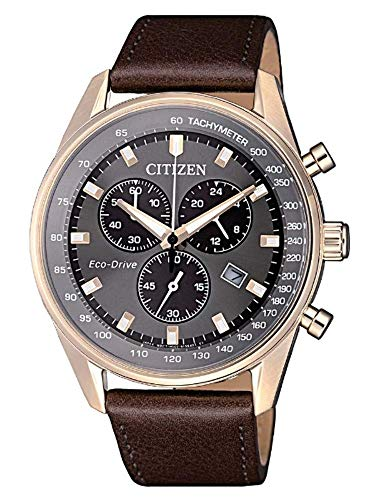 CITIZEN Orologio Uomo Cronografo Of Collection Chrono Sport AT2393-17H