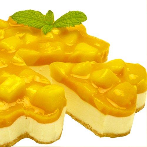 誕生日ケーキ マンゴーレアチーズケーキ 5号 約4~6人分 天使のおくりもの
