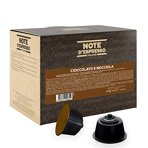 Note D'Espresso Preparato Solubile per Bevanda al Gusto di Cioccolato ed Nocciola in Capsule - 672 g (48 x 14 g)