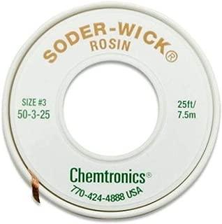 Chemtronics Desoldering Braid, Soder-Wick, Rosin.080