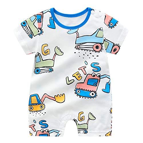 N / A - Pijama para bebé (100% algodón, 100% algodón), diseño de jirafa