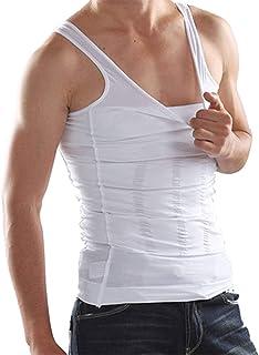 Mens Body Shaper Slimming Body Shirt Compression Vest Men Abdomen Slim Sports Slim Vest Fat Burner Shapewear Body Shaping ...
