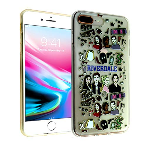 iPhone 7 8 Plus CASEMPIRE Riverdale TPU Case Shock Proof Never Fade Slim Fit Cover for iPhone 7 8 Plus Southside Serpent