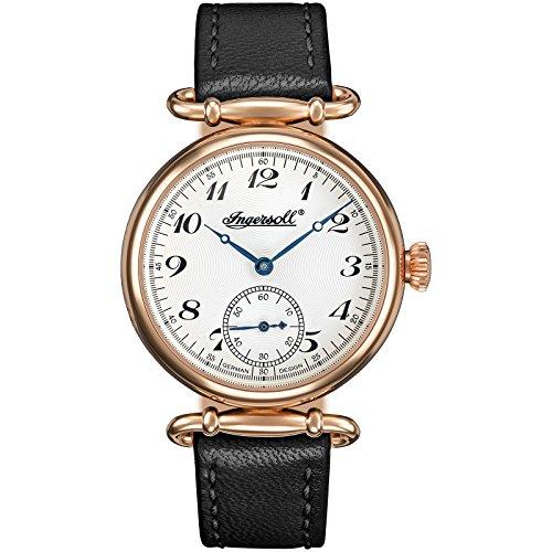 Ingersoll Damen Analog Automatik Uhr mit Leder Armband IN1320RSL