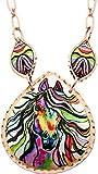 Lynn Bean Design, Handmade Copper Horse Necklace