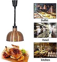DAGCOT Resturantのキッチンビュッフェ、1のための29センチメートル大型ランプシェード伸縮シングルウォーマーランプと食品ウォーマーランプビュッフェ料理ヒートランプウォーマー食品加熱ランプコマーシャル (Color : 4)