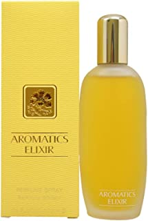 Aromatics Elixir by Clinique Eau de Parfum for Women 100ml Geranium Rose And White Flowers: Ylang Ylang Jasmine And Tuberose