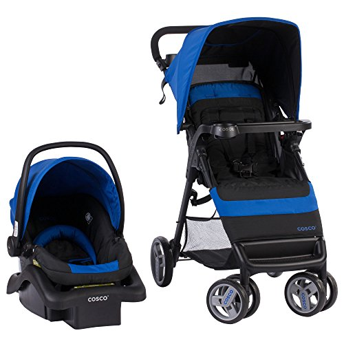 Cosco Simple Fold Travel System with Light and Comfy 22 Infant...