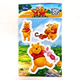 Eurosales BV Disney Colourful Large 3D Decoration Stickers - Winnie the Pooh, Piglet and Tigger