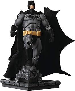 DC Comics: Batman Hush (Black Version) Mafex Action Figure, Multicolor