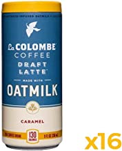 La Colombe Oatmilk Caramel Draft Latte - 9 Fluid Ounce, 16 Count - Plant-Based, Dairy-Free - Made With Real Ingredients - Grab And Go Coffee