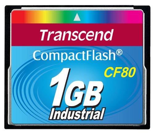 Transcend 1Gb Cf Card (80X)