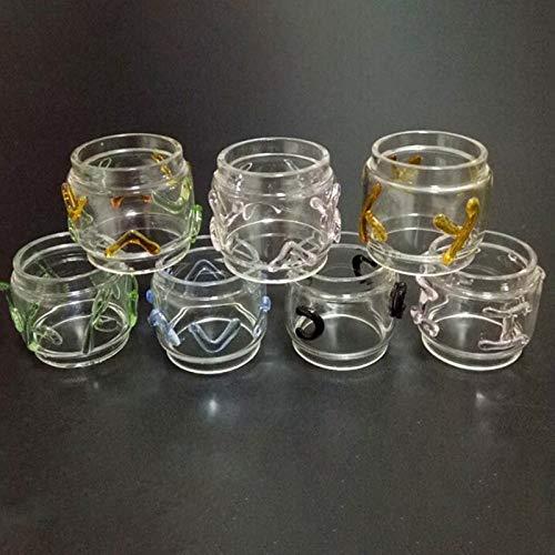 Denghui-ec, 1 unids Fat Pure 8 ml Reemplazo de Tubo de Vidrio for TFV 12 Pricne Atomizador Colorido Artesanía Forma Tubo de Vidrio Color Al Azar, Sin Tabaco ni nicotina