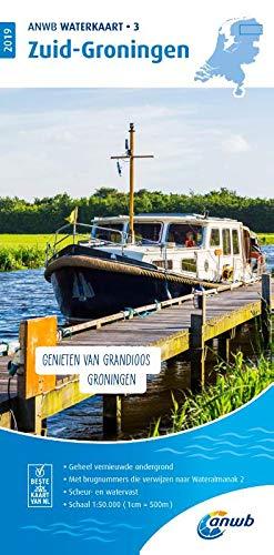 Waterkaart 03 Zuid-Groningen 1:50 000 (ANWB waterkaart (3))