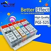 HAMISS 6pcs pgi-525 cli-526 pgi 525 cli 526 compatible ink cartridge for canon pixma MG6150 MG6250 MG8150 MG8250 printer