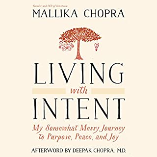 Living with Intent audiobook cover art