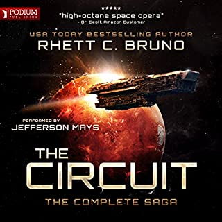 The Circuit                   By:                                                                                                                                 Rhett C. Bruno                               Narrated by:                                                                                                                                 Jefferson Mays                      Length: 28 hrs and 46 mins     83 ratings     Overall 4.2