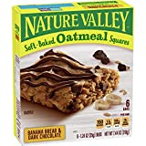 Nature Valley Cookies Oatmeal Cookies GRANOLA BAR: Nature Valley granola bars are made with whole grain oats roasted peanuts semisweet chocolate chips and creamy peanut butter. REAL INGREDIENTS: Hearty whole grain oats with no artificial flavors arti...