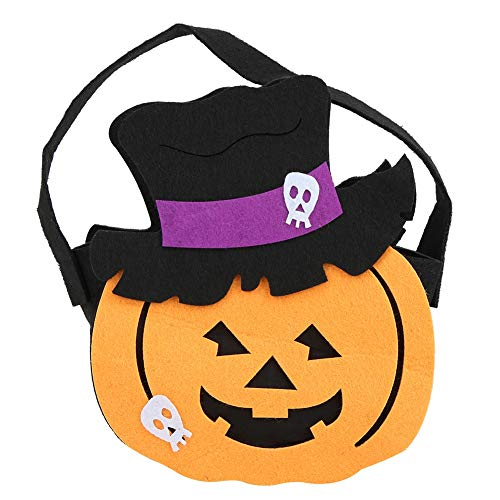 Halloween Candy Handtasche, Handheld Party Kids Party Supplies Geschenk behandeln süße Tasche(3#)