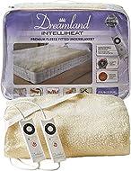 Dreamland Intelliheat fast heat up premium soft fleece electric underblanket double, electric blanke...