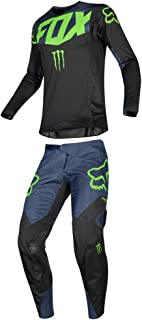 Fox Racing 2019 360 Pro Circuit Jersey and Pants Combo Offroad Gear Adult Mens Black XL Jersey/Pants 34W