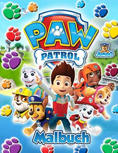 Paw Patrol Malbuch: Paw Patrol Awesome Malbuch Für Kinder