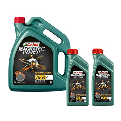 Motorenöl 5W-30 Magnatec Stop Start C3 [7 L] von Castrol (SET159A5C7L) Öl Schmierung Motorenöl