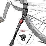 Bequille Velo Laterale, XiDe Béquilles Vélo Centrale 22-28', Universel Ajustable Vélo Sidestand Kickstand Béquille de...