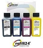 Kit di ricarica per cartucce d' inchiostro HP 934Black/XL, HP 935Cyan/XL, HP 935Magenta/XL, HP 935Yellow/XL Nero e Colore, inchiostro di alta qualità 400ML pigmentato