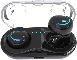 True Wireless Earbuds OVERMAL Bluetooth Headset Invisible Wireless Headphone Stereo Earphones in-Ear Mini TWS Twins True W...