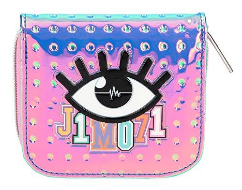 Depesche 10312 - Portemonnaie mit Reißverschluss und Druckknopf, Lisa und Lena J1MO71, holo