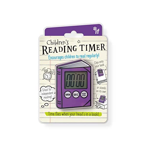 Reading Timer – Purple