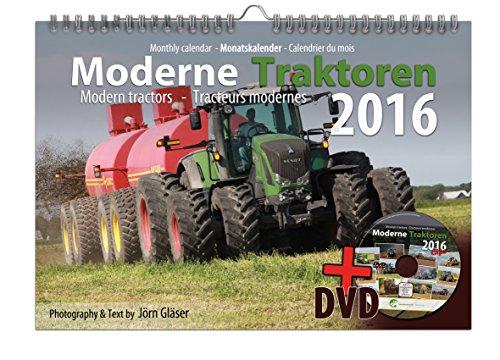 Moderne Traktoren 2016 DIN A3 Kalender + Video-DVD