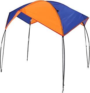 Zouminy Boat Sun Shelter Sailboat Awning Cover Fishing Canopy Tent Sun Shade(4Persons)