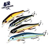 Best Jerkbaits - COCKYBASS Fishing Lures Crankbait Bass Fishing Swimbaits Jerkbait Review