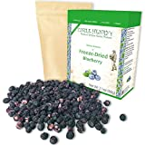 Freeze Dried Blueberry: Delicious Fruits 2.1oz (60g) Large Bulk Re-Sealable Bag in a Sturdy Protective Box: Taste Like Fresh Blueberries, the Ultimate Snack and Breakfast. Original Green Top Quality